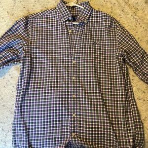 Vineyard Vines Slim fit whale shirt button up.